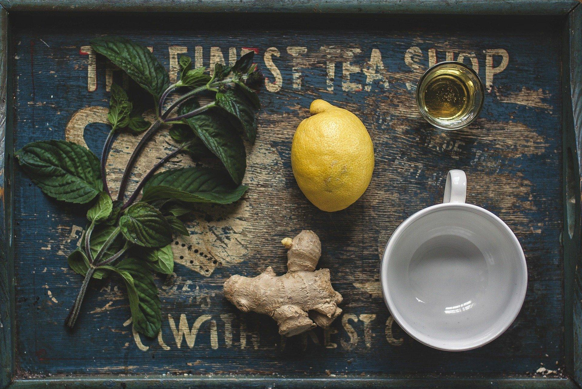zázvor citron