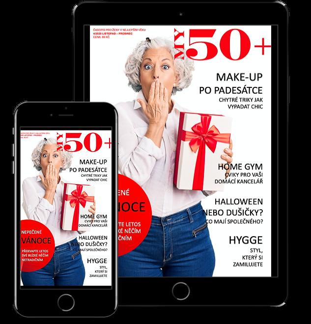 časopis pro ženy 50+