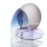 Brýlová skla s různým zabarvením